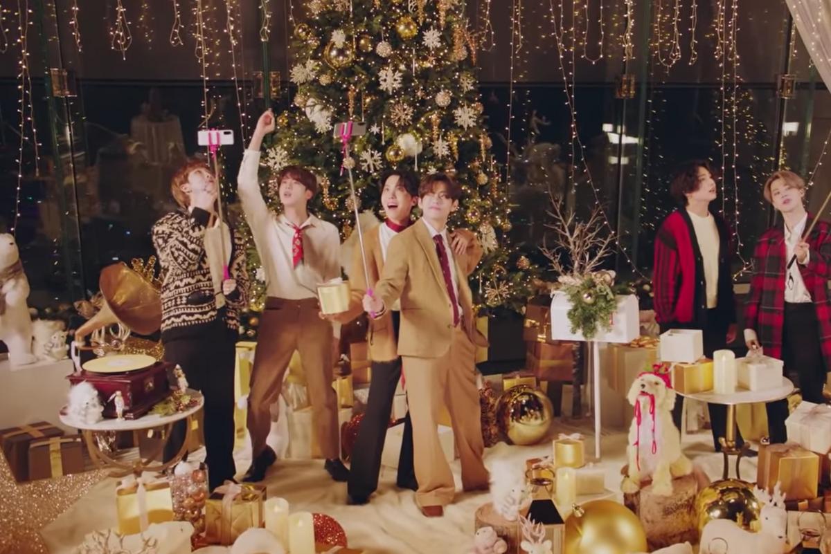 Happy Holidays, Love BTS