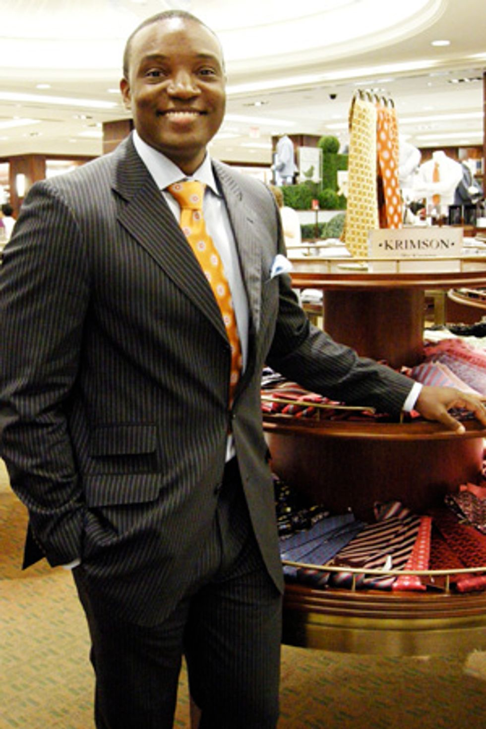 Midtown Cornered Style: Apprentice Star Turned Tie Designer Kwame Jackson