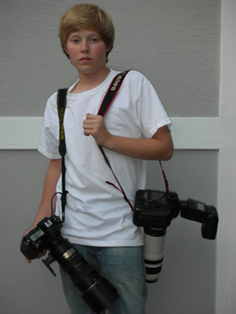 Peter Davis' Status Update: Teen Paparazzi Austin Visschedyk