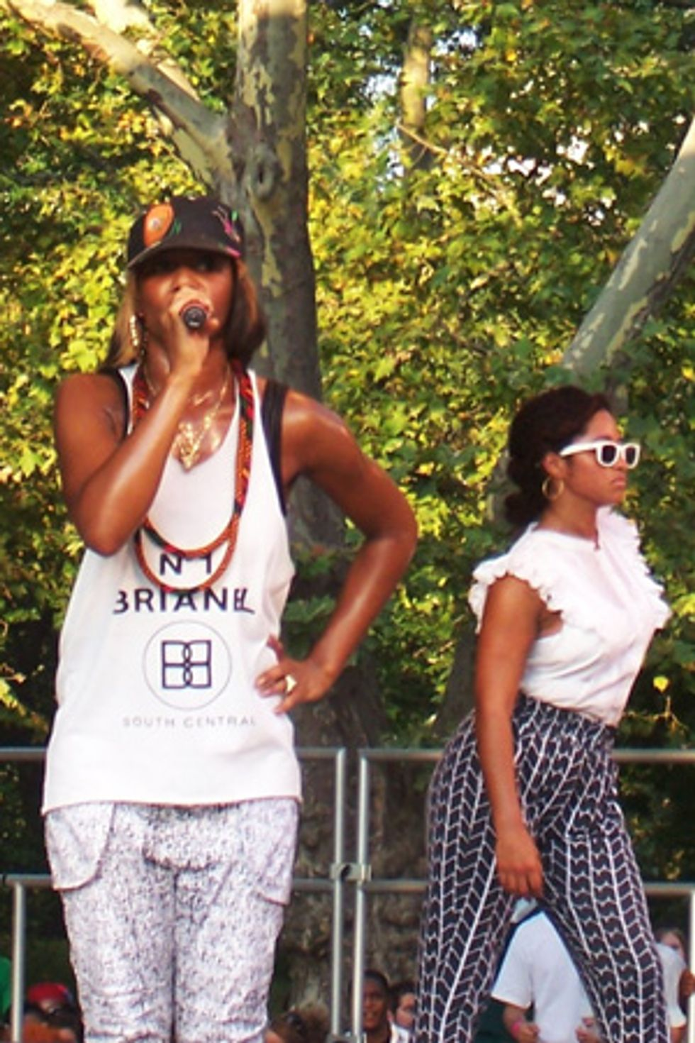 Santogold Brings the Heat in Central Park