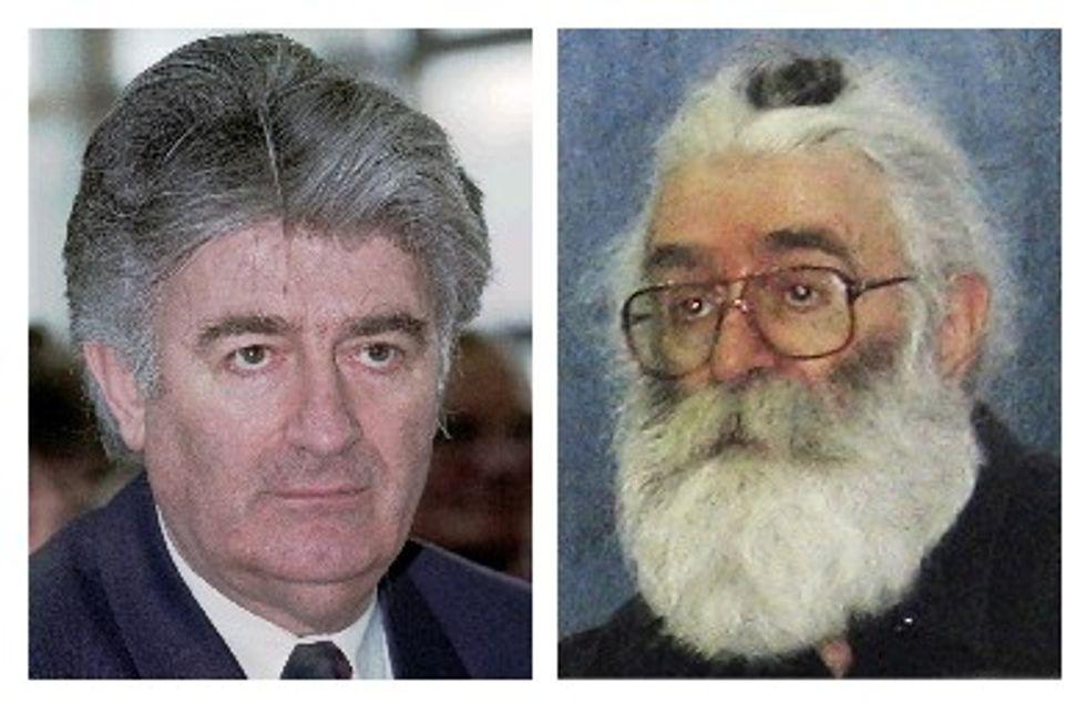 Radovan Karadzic Might Be a Scumbag But He's Got a Fun Look!