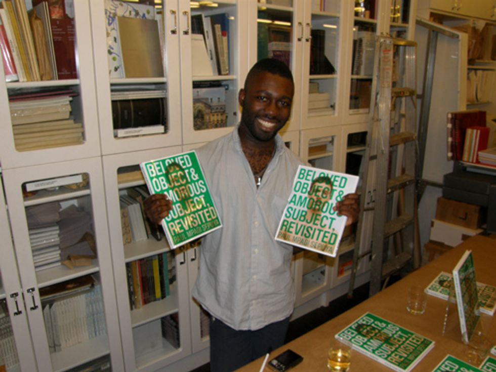 "A ""Interview Sesh"" With Paul Mpagi Sepuya at Printed Matter"
