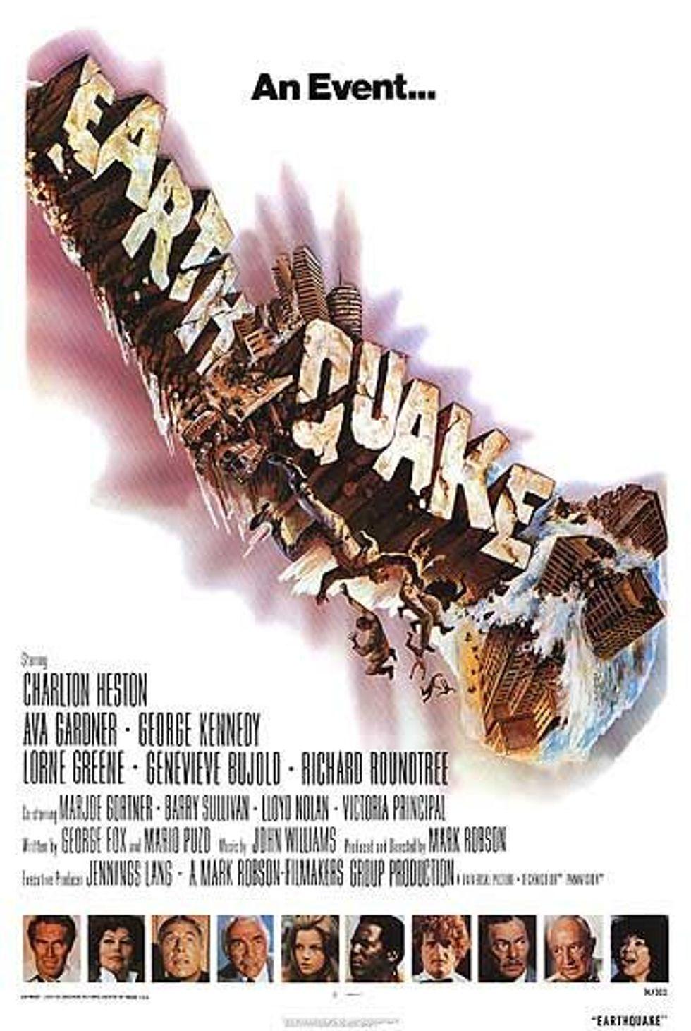Peter Davis' Status Update: Quake in LA!