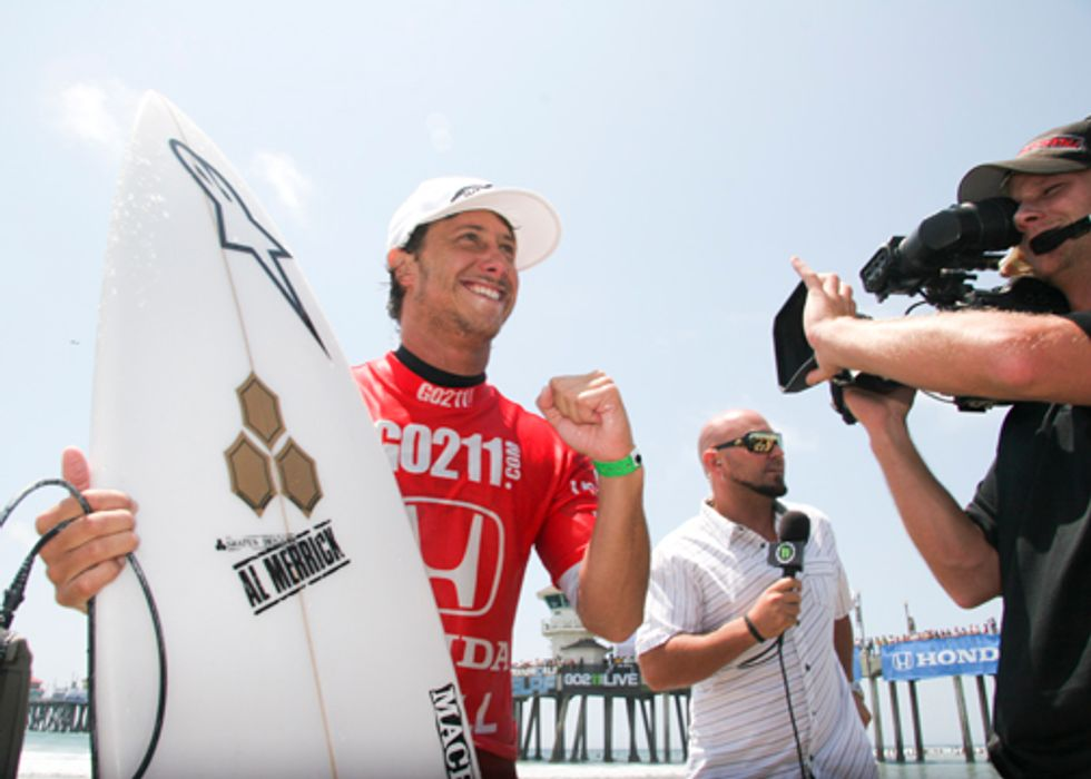 Surf's Up! Nathaniel Curran's Number One at the Honda U.S. Open