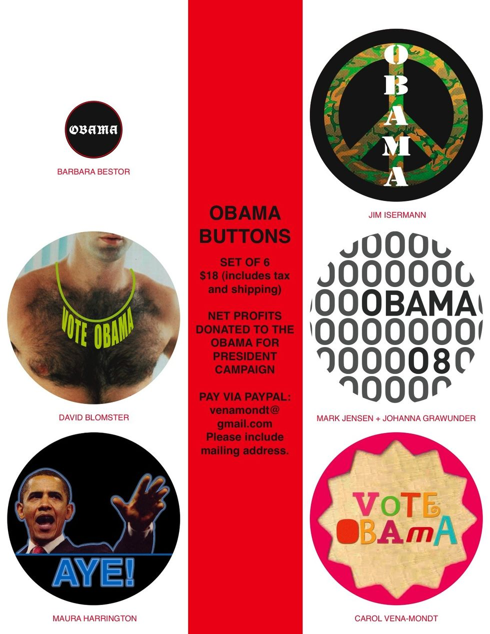 Obama Buttons!