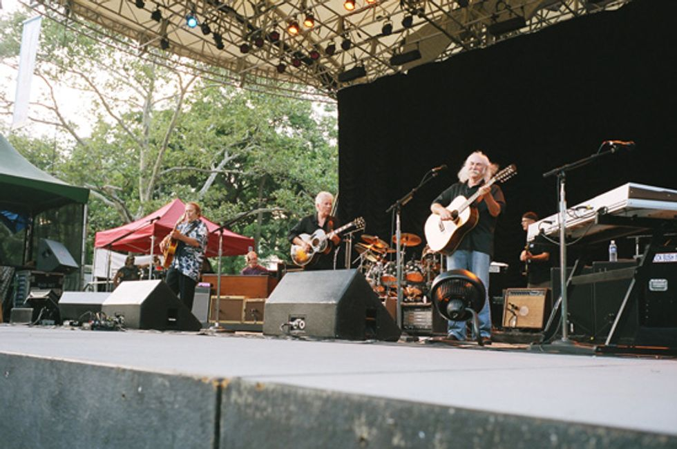 CSN at SummerStage: Still Harmonious After All These Years