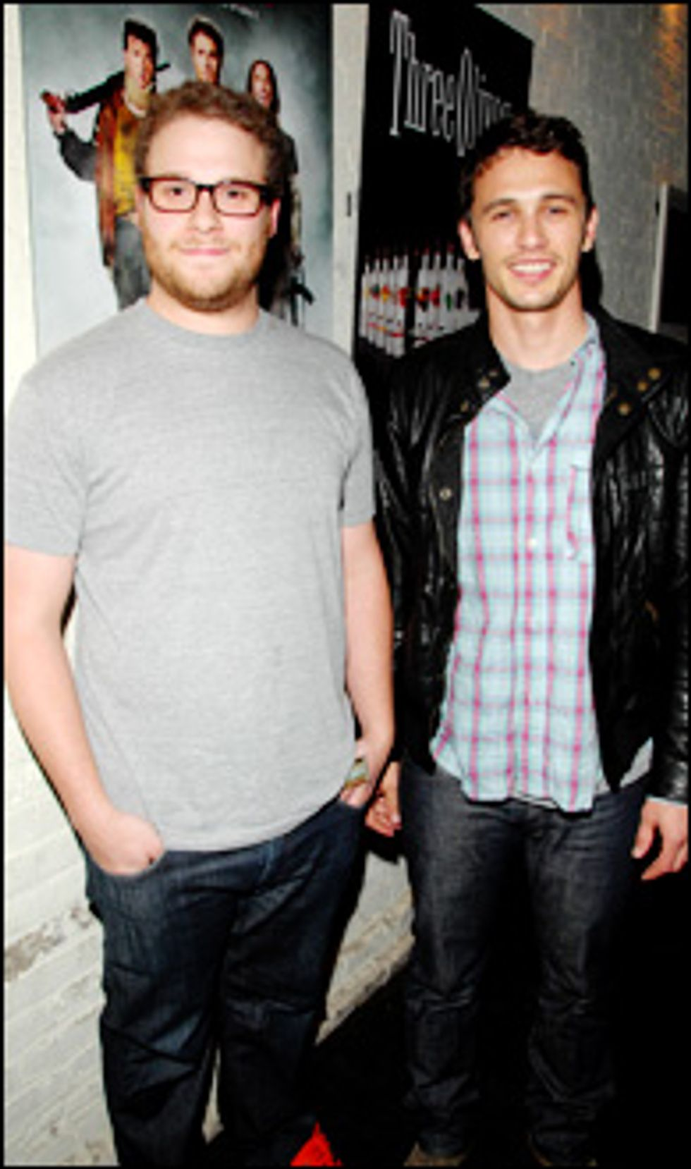 Comic Cuties Come Out for the Pineapple Express Screening and After-Party