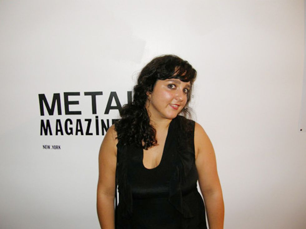 Meet Metal Mag's Angela Esteban Librero