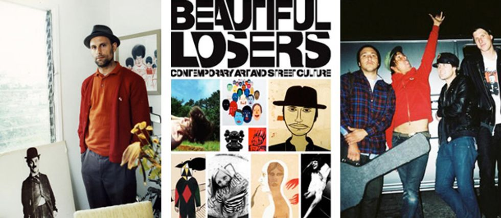 Beautiful Losers & RVCA Mix Skate and Art