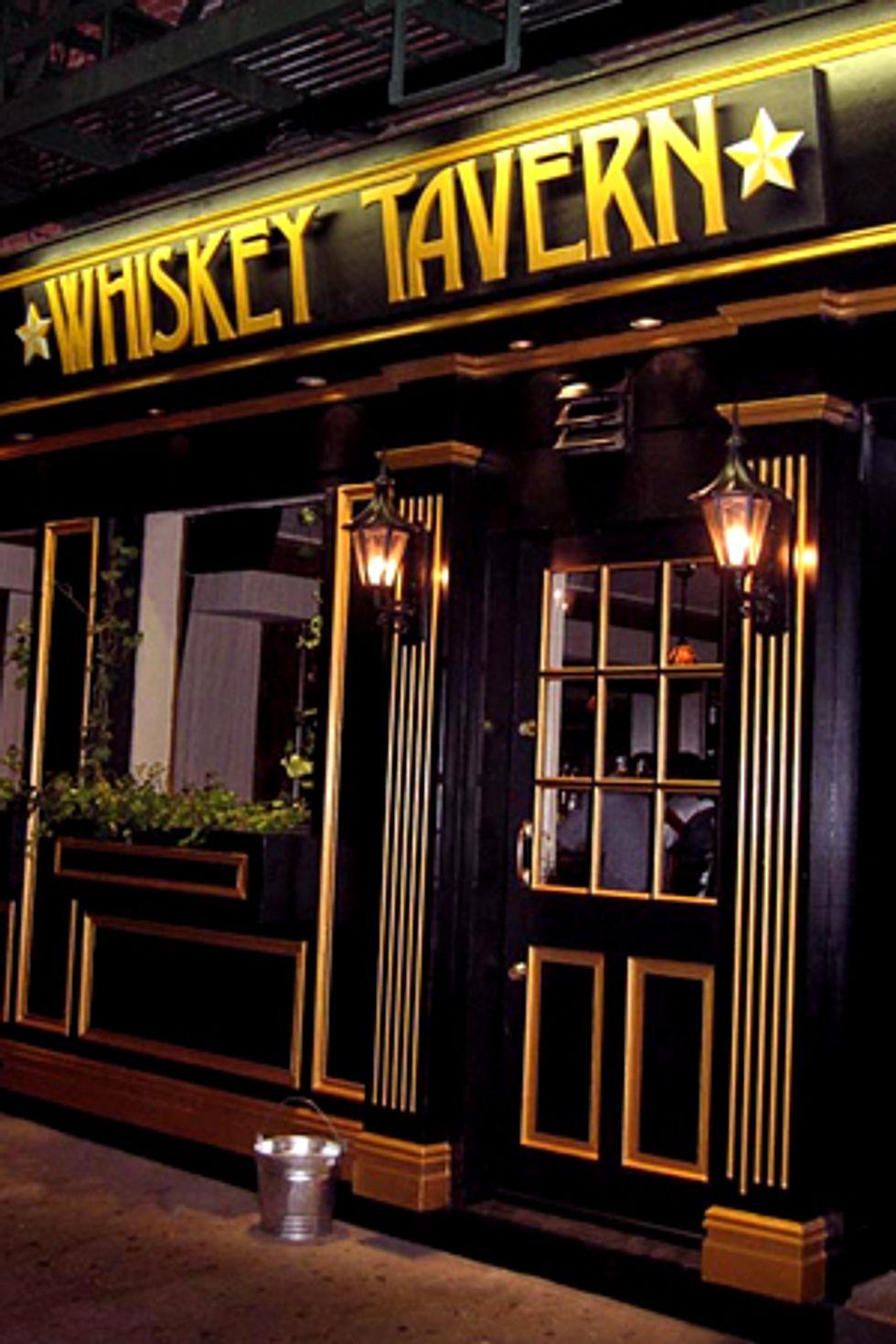 Bar of the Week:  Whiskey Tavern