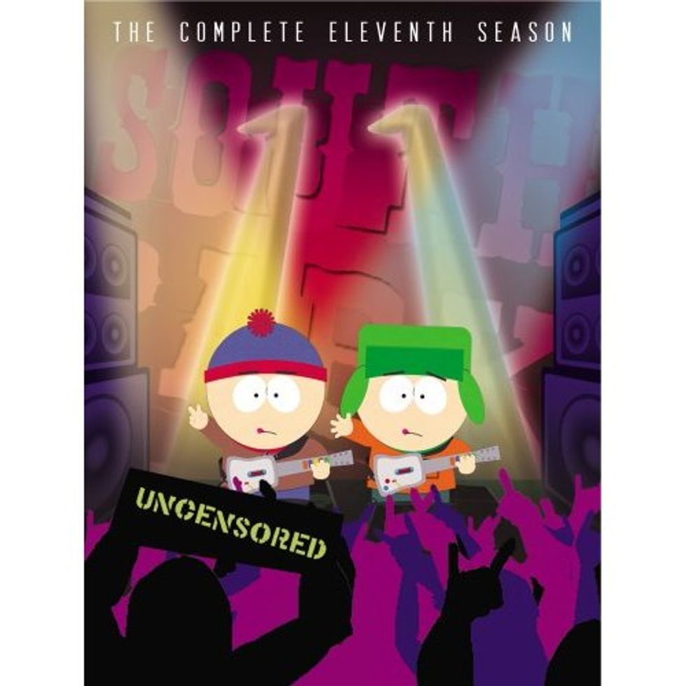 South Park (The Complete Eleventh Season) on DVD!