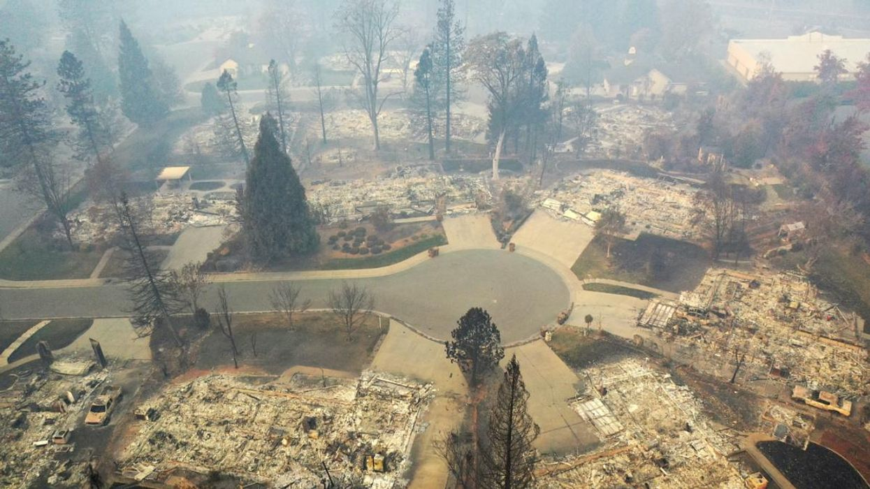 Plastic Pipes Are Polluting Drinking Water Systems After Wildfires