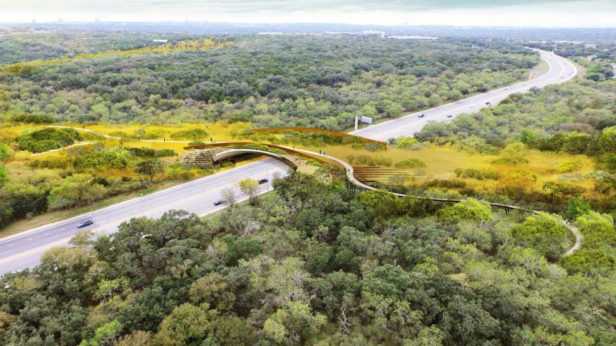 San Antonio, Texas Unveils Largest Highway Crossing for Wildlife in U.S.