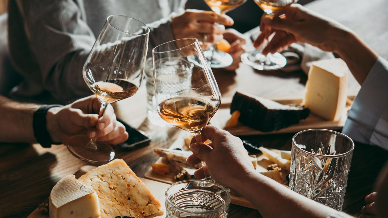Want to stop cognitive decline? Wine and cheese could help.
