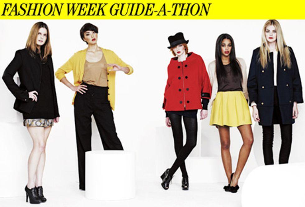 Fashion Week Guide-a-Thon
