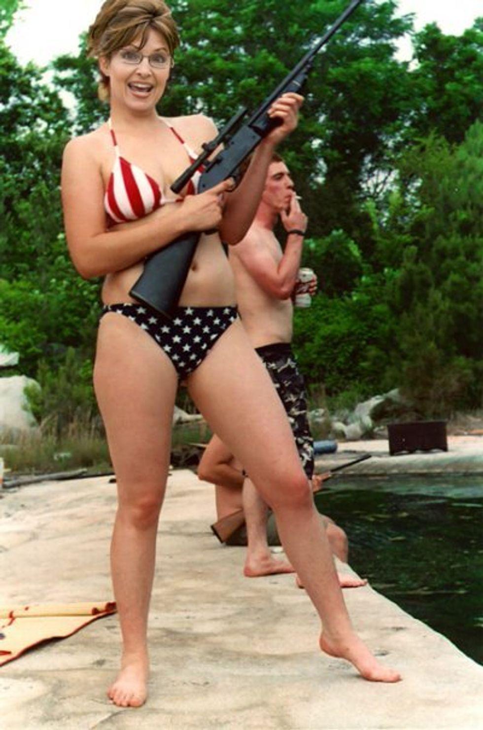 Palin With an Assault Rifle
