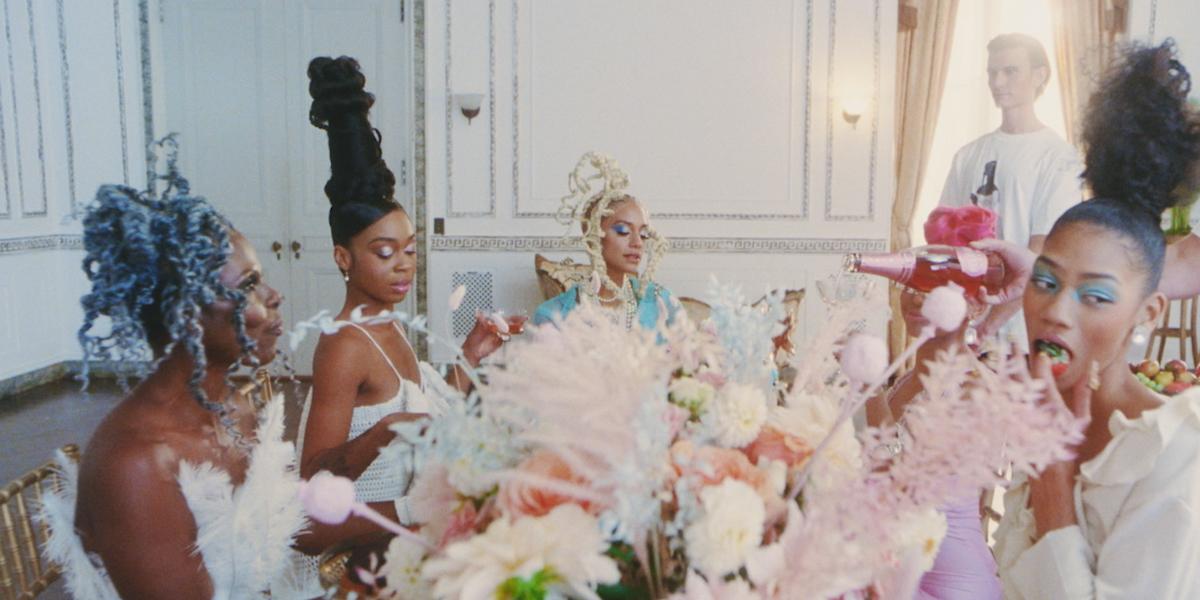 Tia Adeola's Renaissance Fashion Film Paints Black Women as Modern Marie Antoinettes