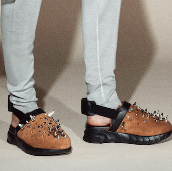 Givenchy's Spiked Suede Clogs Could Be the Next Ugly Chic Shoe
