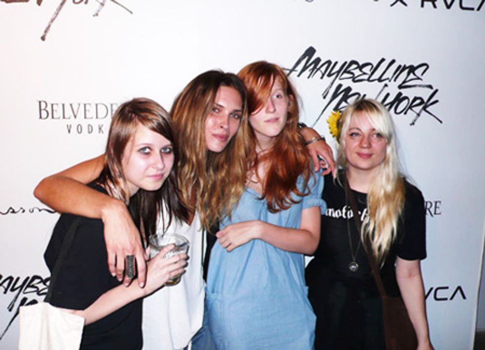 About Last Night... Erin Wasson + RVCA Launch Party