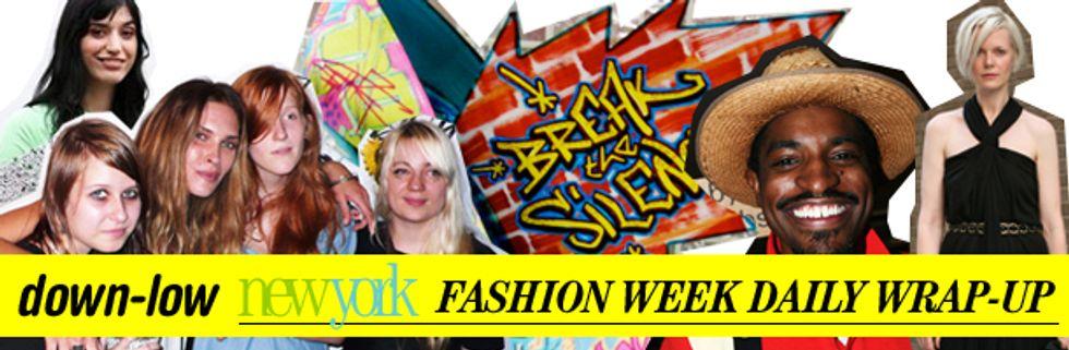 Fashion Week Daily Wrap-Up: Benjamin Bixby, Erin Wasson and Diva Zappa