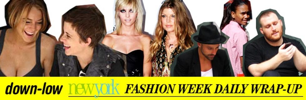 Fashion Week Daily Wrap-Up: Arlenis Sosa, Lindsay Lohan and Fashion Rocks