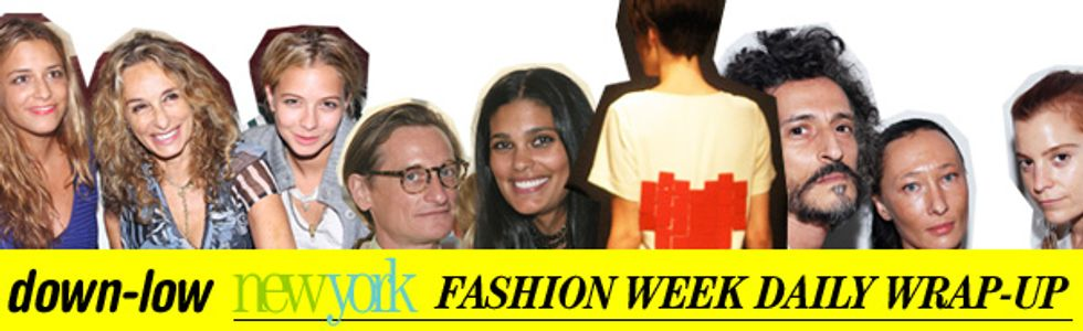 Fashion Week Daily Wrap-Up: Rachel Roy, The Ronsons and Threeasfour