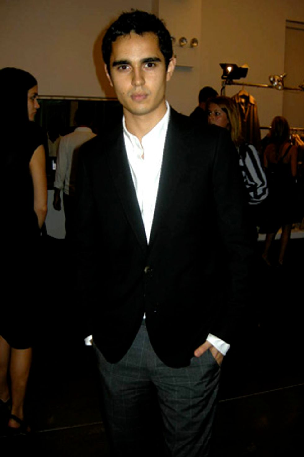 Five Minutes with Max Minghella at the  Band of Outsiders Show