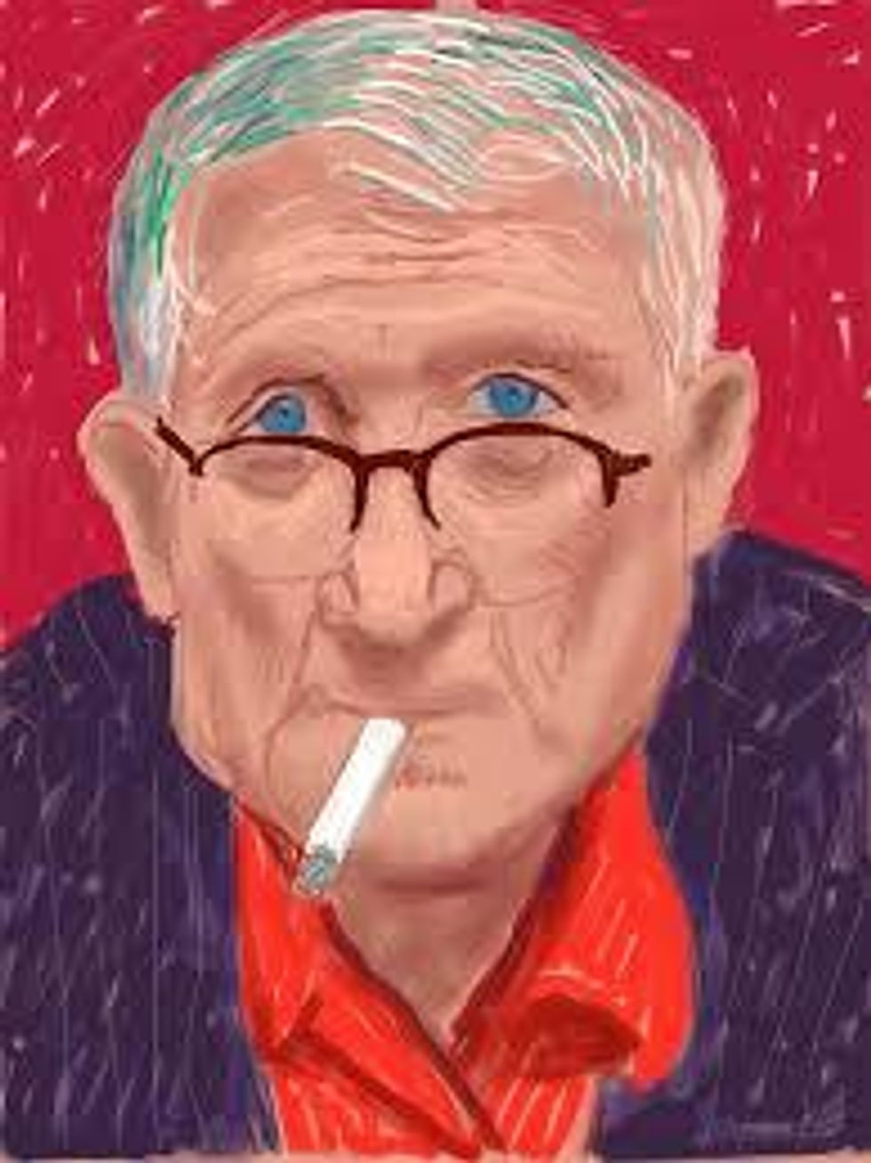 9 Of Hockney's Works That Jumped Out During Finals