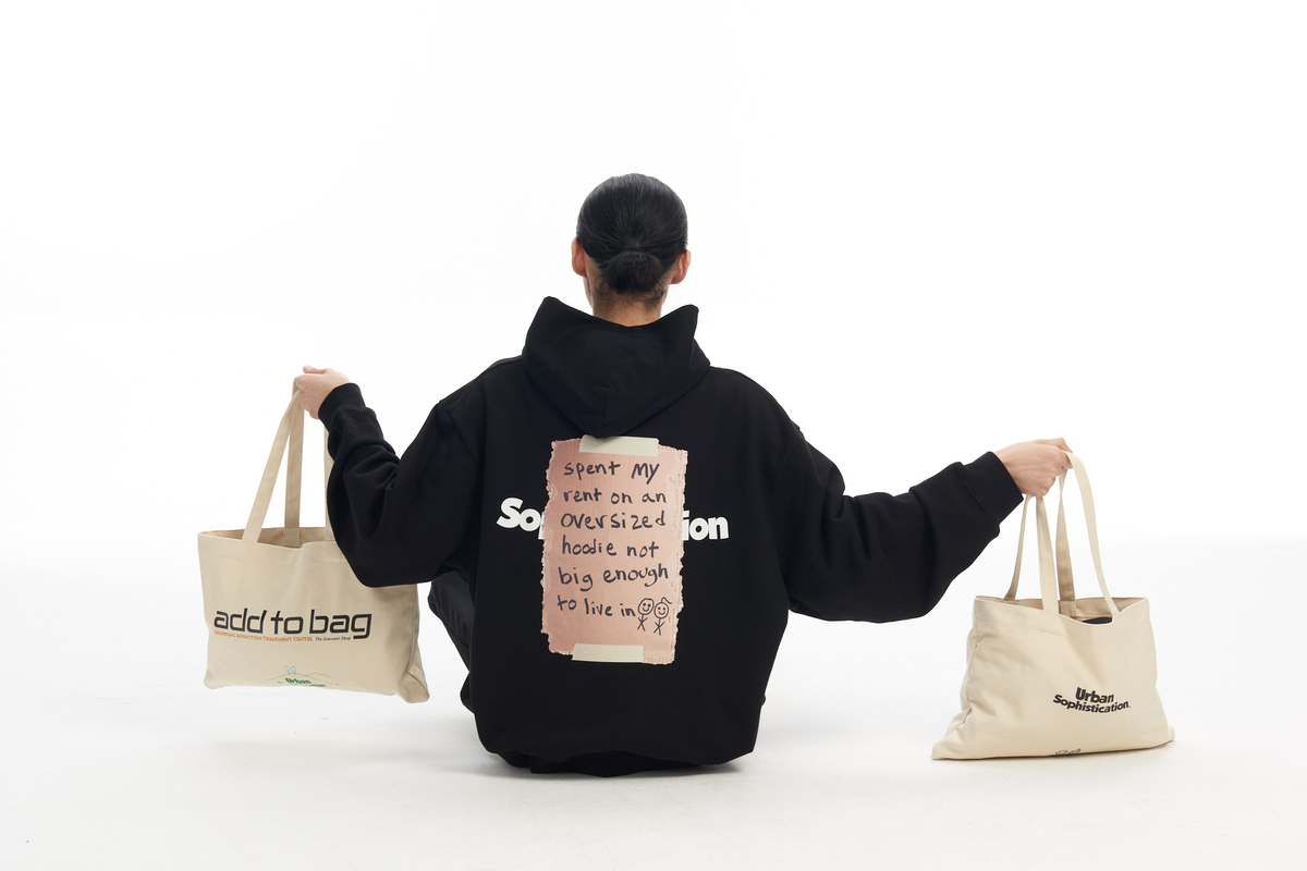 Urban Sophistication Wants You to Confront Your Shopping Addiction