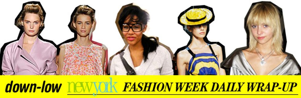 Fashion Week Daily Wrap-Up: Marc Jacobs, Cut-Outs and Alexis Phifer