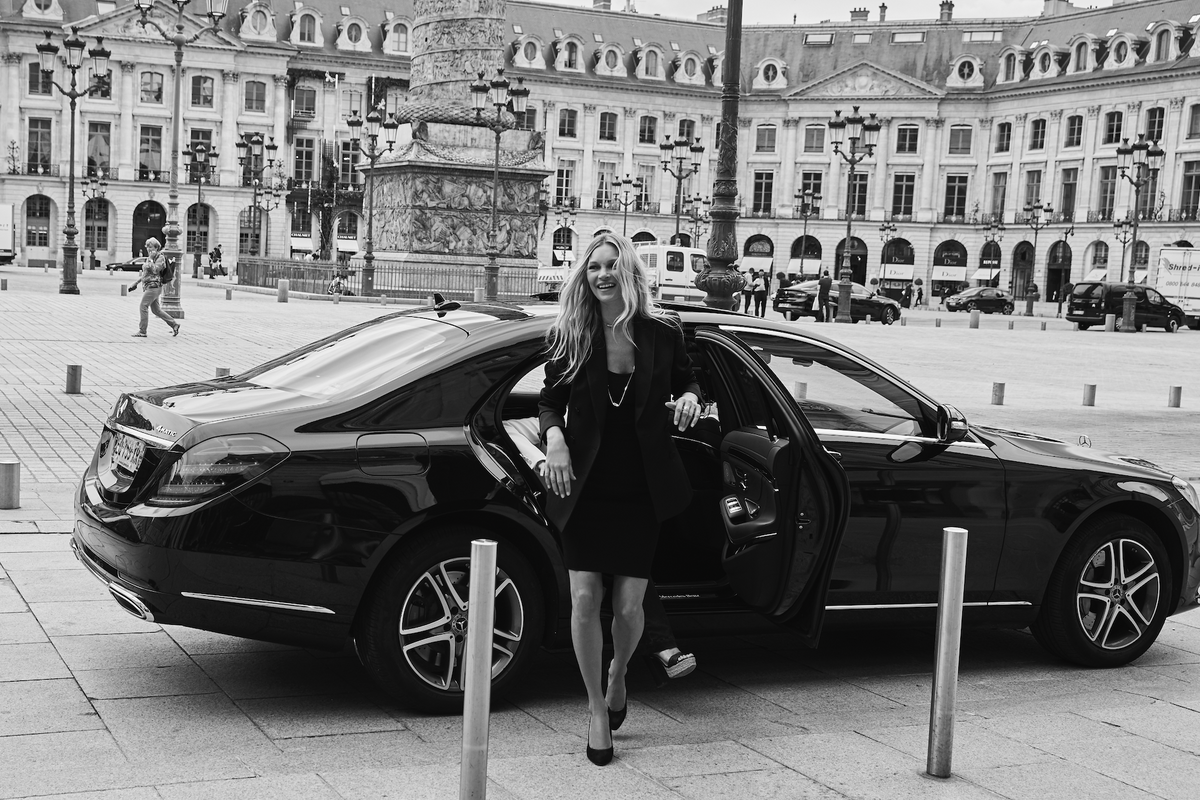 Kate Moss Gushes About Paris and Jewelry