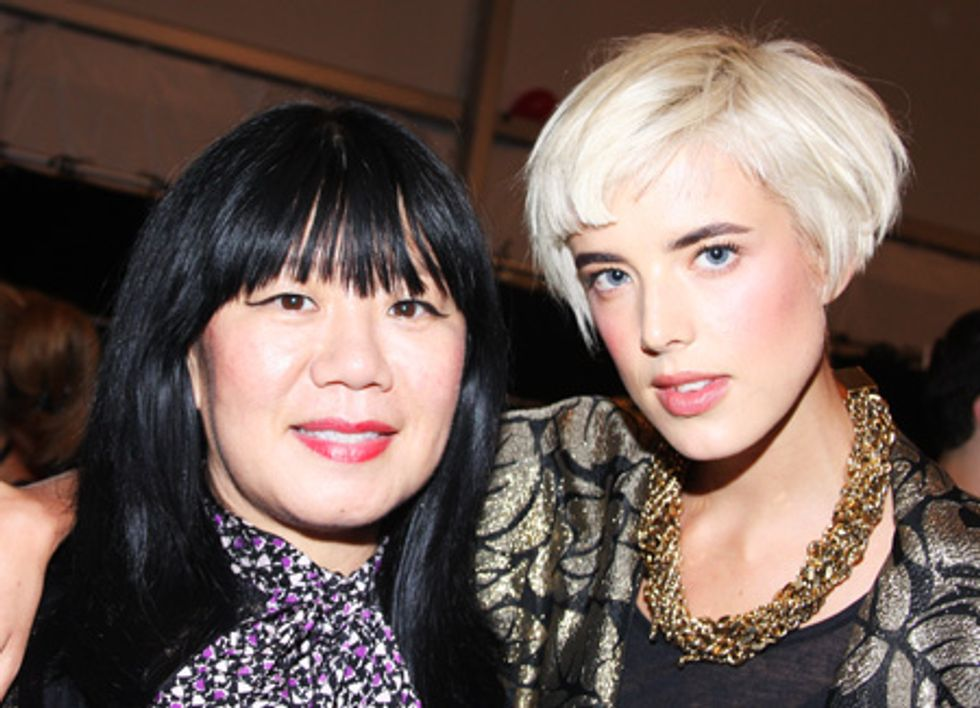 About Last Night... Anna Sui, Givenchy, Da Silvano, Bergdorf's and Kai Kuhne