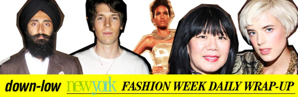 Fashion Week Daily Wrap-Up: Ryan McGinley, Oscar De La Renta and Waris