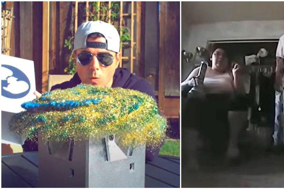 The 'glitter bomber' is back with a brilliant new trap for porch thieves who never learn