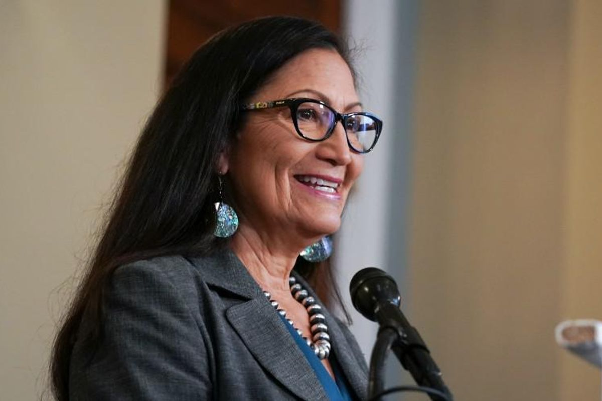 'A perfect choice': Biden names Deb Haaland as first Native American Interior Secretary