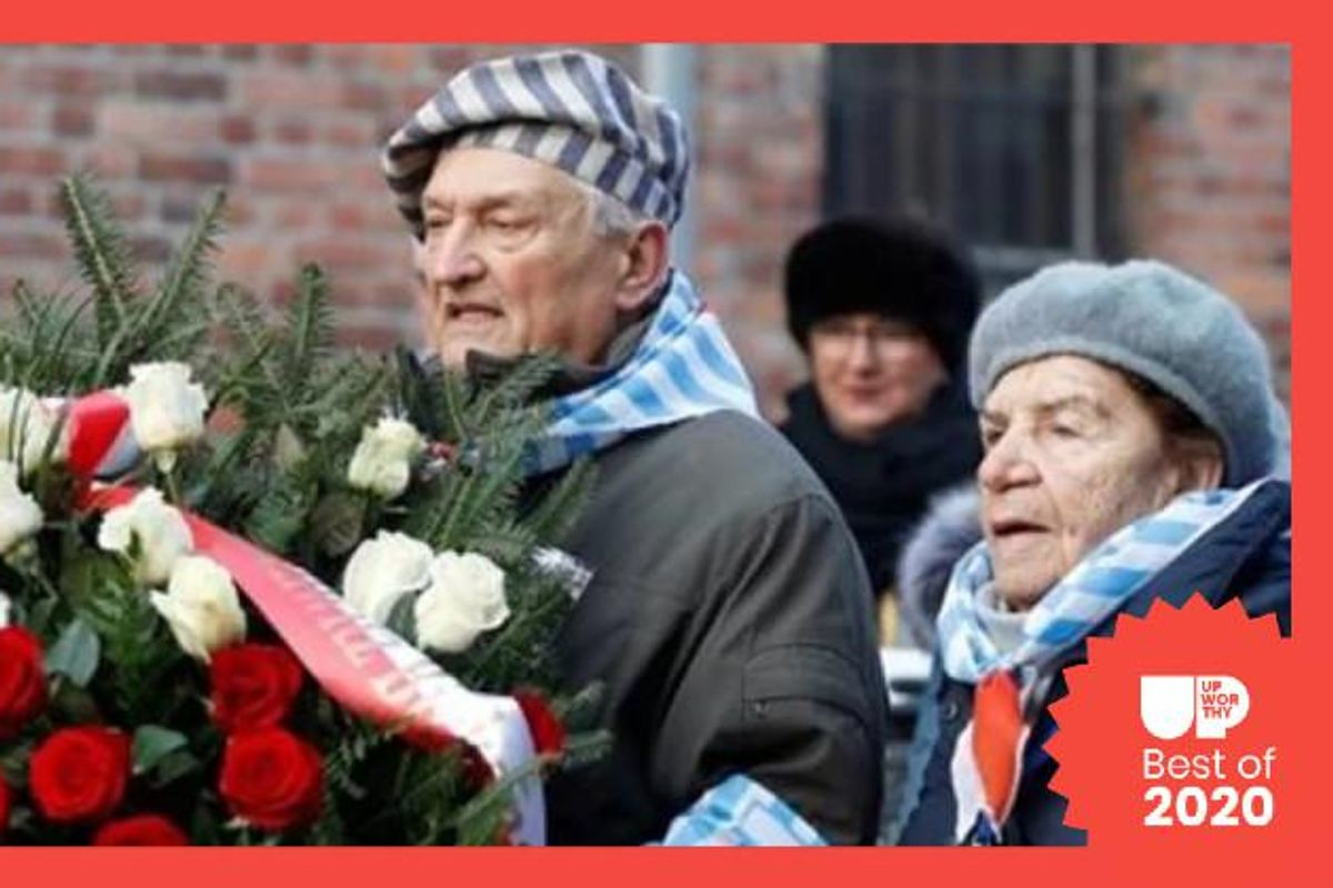 Hundreds of Auschwitz survivors return for the 75th anniversary of its liberation