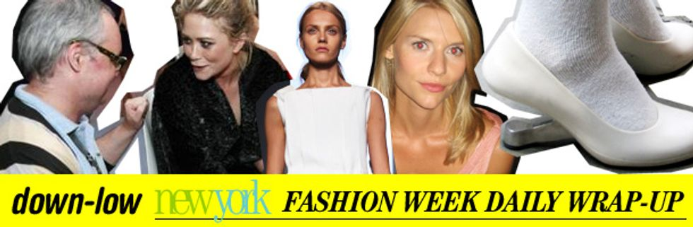 Fashion Week Daily Wrap-Up: Calvin Klein, Mary-Kate Olsen and Claire Danes