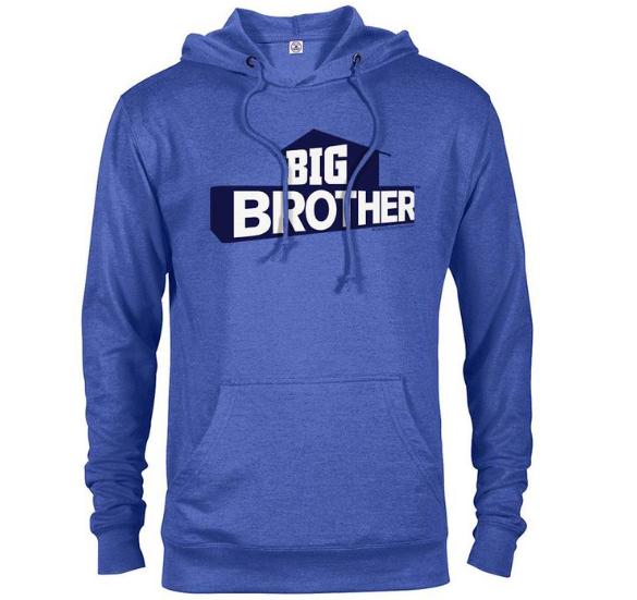 Lightweight Hooded Sweatshirt with Big Brother logo