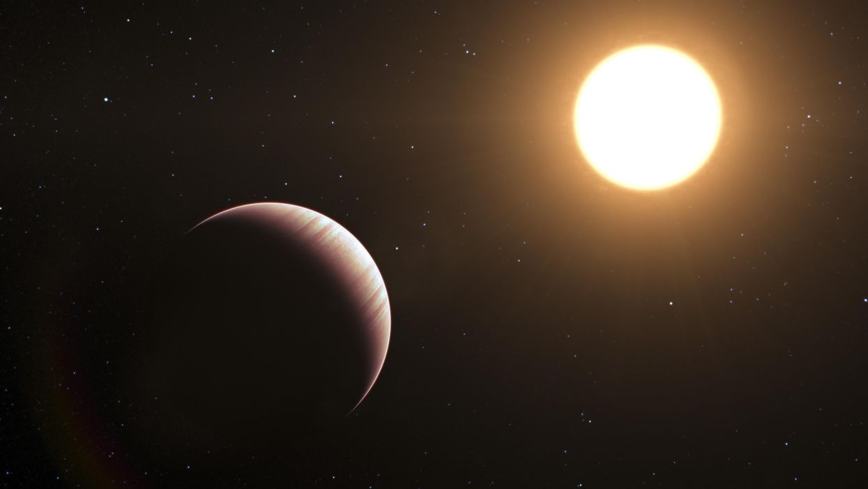 Astronomers have detected the first radio emissions from an exoplanet