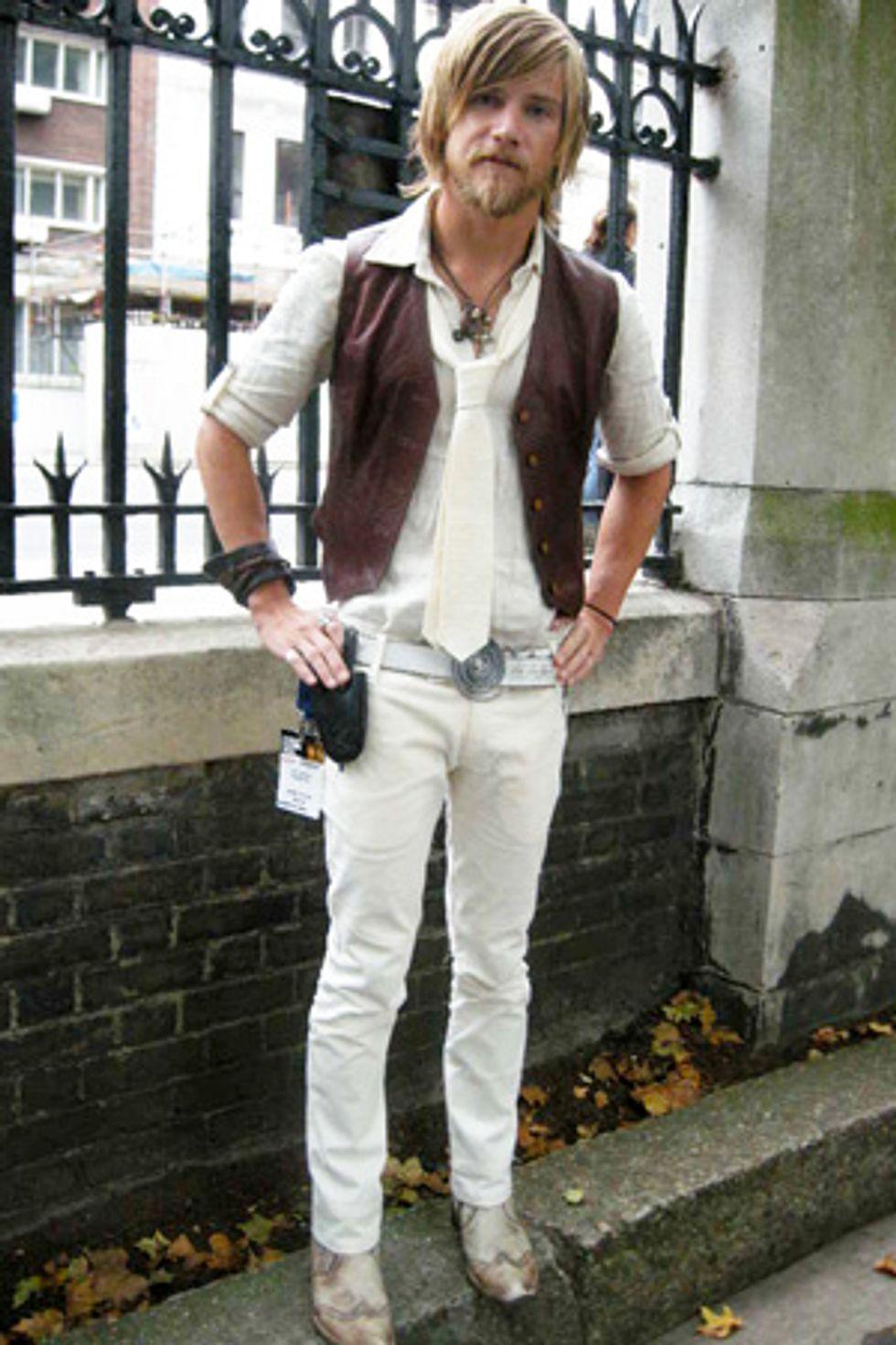 London Fashion Week Cornered Style: Jeff Garner
