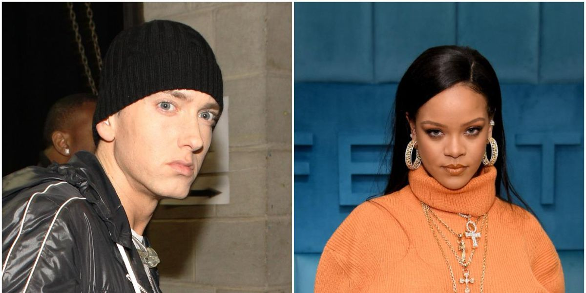 Eminem Apologizes to Rihanna Over Diss Track 'Siding' With Chris Brown