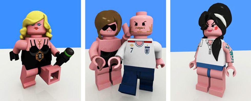 Peter Davis' Status Update: Lego Hearts Winehouse