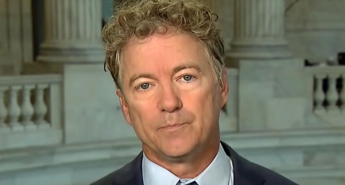 Rand Paul slammed for 'breathtaking political cowardice' over fear of impeaching Trump