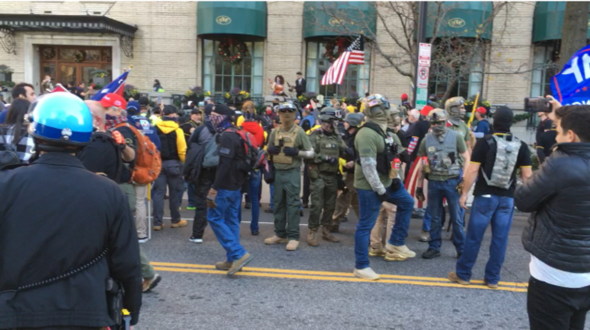 'We're gonna kill Congress': Trump's far-right supporters promise violence at today's DC protests