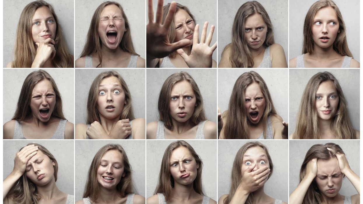Sixteen facial expressions appear in every culture