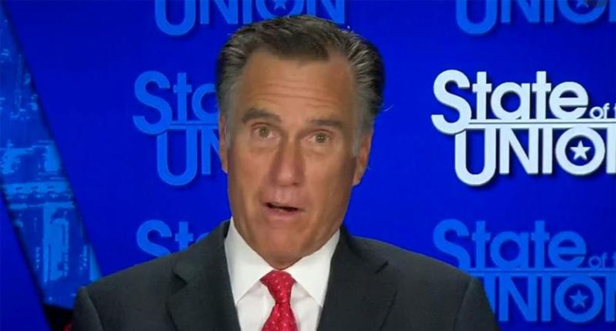 Mitt Romney calls out Trump for his 'sad and embarrassing' attempts to overturn the election