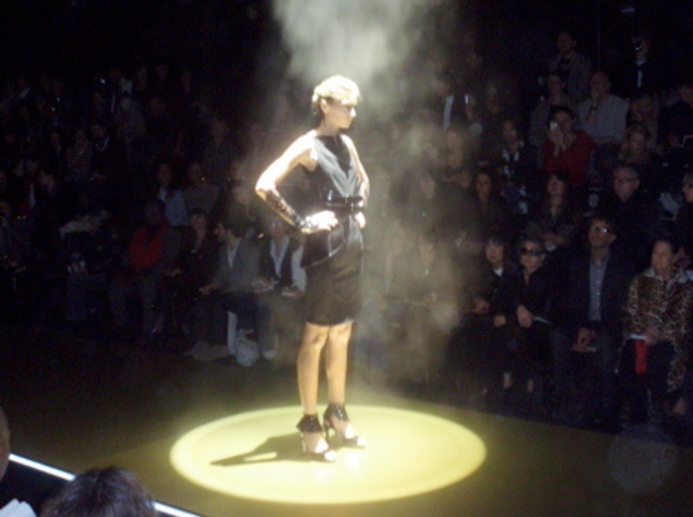 Beaming Me Up, Karl Lagerfeld