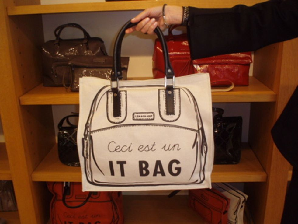 Longchamp's New It Bag. Literally.