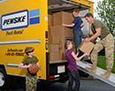 Family loading truck