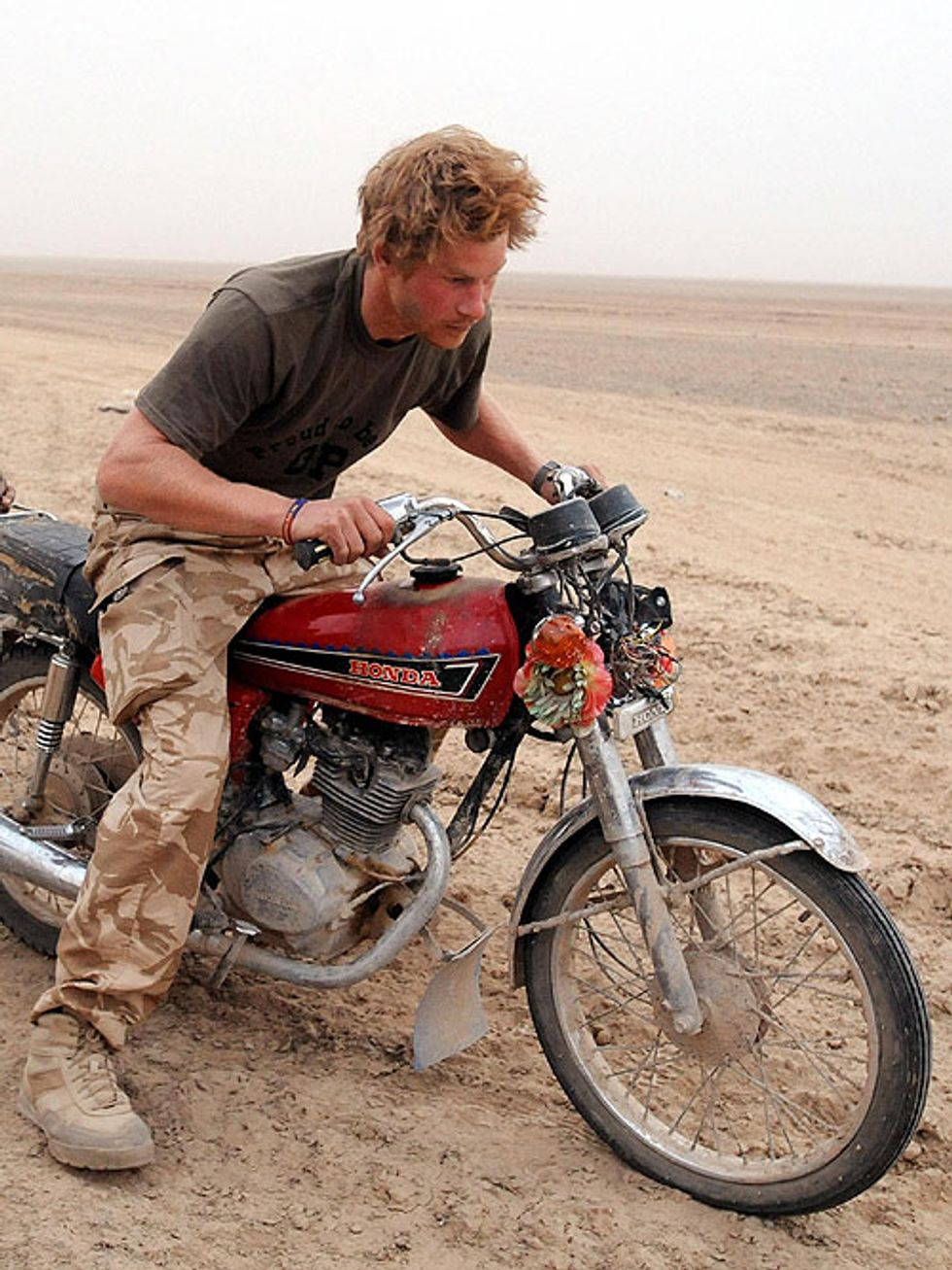 Harry and William of Wales to Do Charity Motorcycle Ride Through South Africa